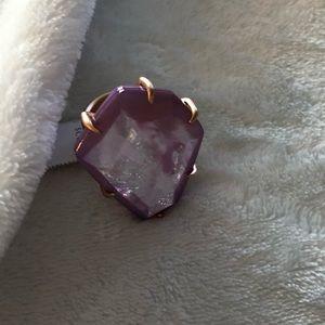 Kendra Scott Megan Ring In Blush - Size 8-New